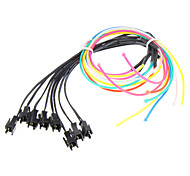 1 Meter Flexible Auto dekorative Neon Light 4mm EL Wire Rope