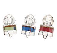 Diamante em forma de LED piscando luz com bateria (cores sortidas)