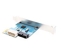 USB 3.0 incorporado en la tarjeta 20P