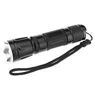 Brinyte D128 5-Mode Cree XML-U2 LED Flashlight(450LM, 1x18651,Black)