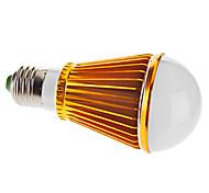E26/E27 7 W 7 High Power LED 570 LM Warm White A Globe Bulbs AC 85-265 V