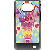 Drink patroon Hard Case voor Samsung Galaxy S2 I9100