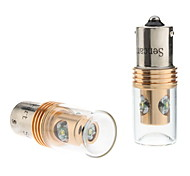1156 12W White Light Cree LED Bulb for Car Fog Brake Lamp (DC 12-24V, 1-Pair)