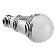 Ampoules Globe Blanc Chaud E27 5 W 5 LED Haute Puissance 450 LM 3000-3500 K AC 85-265 V
