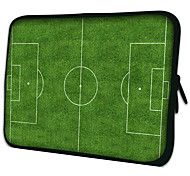 """Football Field""Pattern Nylon Material Waterproof Sleeve Case for 11""/13""/15"" Laptop&Tablet"
