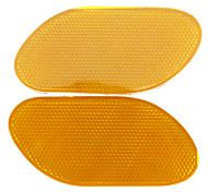 Fashionable Stick-on Reflector for Car (2-Piece)