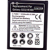 Cell Phone Battery for Samsung Galaxy SIII/9300(3.7V, 2300mAh)