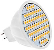 4W GU5.3(MR16) Spot LED MR16 60 SMD 3528 320 lm Blanc Chaud DC 12 V