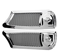 Mesh Style Car Air Flow Fender Mesh Side Vent (2-Pack)