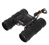 8x21 Fashionable Folding Outdoor Binocular Telescope (Black)