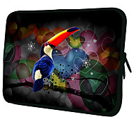 """Blue Bird""Pattern Nylon Material Waterproof Sleeve Case for 11""/13""/15"" Laptop&Tablet"