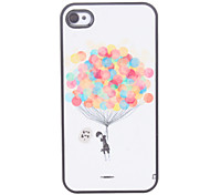 Ballon Pattern Hard Case voor iPhone 4/4S
