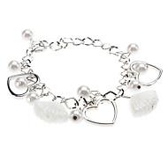 Women's Love Pearl Glaze Bracelet Christmas Gifts