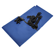 Universal Car Back Seat Nylon Mat with Plastic Buckles for Dogs