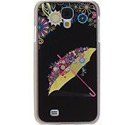 Umbrella Pattern Hard Case for Samsung Galaxy S4 I9500