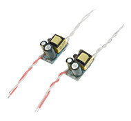 1-3x1W LED Driver Power Supply (2/Pack)