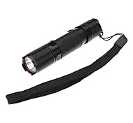 LED Flashlights / Handheld Flashlights LED 3 Mode 230 Lumens Cree XR-E Q5 AA Camping/Hiking/Caving / Everyday Use / Cycling / Hunting -