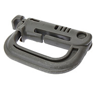 D-Shaped plastique de qualité Buckle (2 Pcs)