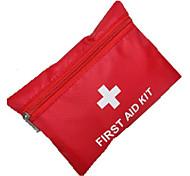 Trousse de premiers soins Randonnée Kit de Secours Rouge pcs