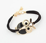 Women's Vintage Owl Bracelet