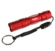 037-45 1-Mode Mini LED Flashlight(1xAA, Red/Black/Blue/Brown)