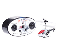 3.5 Channel White & Red Remote Control Helicopter (3xAA)