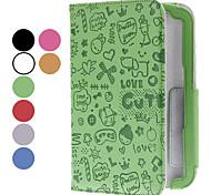 Little Evil Girl patroon pu lederen tas met standaard voor Samsung Galaxy Note N5100 8,0 (verschillende kleuren)