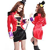 Red and Black Ringmaster Uniform Women's Costume