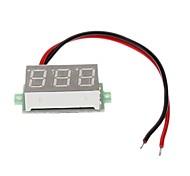 Two-line 4.5-30V Digital Voltmeter Digital Voltmeter Connected in Reverse does not Burn 03160312m