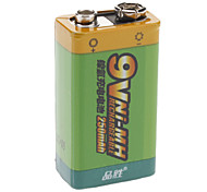 Pisen 7QN250m NI-MH Rechargeable Battery (250mAh, 9V)