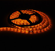 5M 20W 300x3528SMD Yellow Light LED Strip Lamp with AC Adapter (100-240V)
