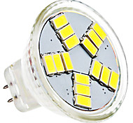 4W GU4(MR11) LED Spotlight MR11 15 SMD 5630 420 lm Natural White AC 12 V