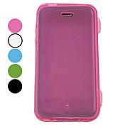 Protective TPU Full Body Case für iPhone 4/4S (verschiedene Farben)