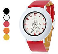 Женские и жирафа девушки шаблон PU Аналоговые кварцевые наручные часы (разных цветов)