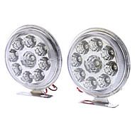 Ampoule pour voitures Feux de jour (12V DC, 1 paire) 5W 400-450LM LED à lumière blanche