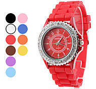 Women's and Children's Quartz Silicone Analog Wrist Watch (Assorted Colors)