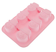 Snowman Shaped Silicone Cake Biscuit Mould