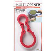 taille multiples Easy Twist ouvre-bocal (couleur aléatoire)