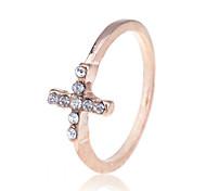 lureme®gold vergoldet Kristall Ring