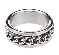 Z&X®  Men's Titanium Steel Ring
