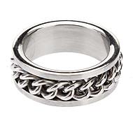 Z&X®  Men's Titanium Steel Ring