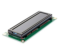 Standard 16×2 Character Blue Backlight LCD Display Module - Black + Green