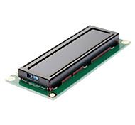 Norm 16 × 2 Zeichen blauer Hintergrundbeleuchtung LCD-Display-Modul - Schwarz + Grün