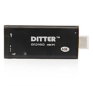 Ditter V12 Android 4.1.1 TV Player (Rockchip Rk3066 1.6GHz dual RAM/8GB ROM Core/WiFi/1GB)