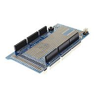 Прототип щит protoshield расширение v3 доска с мини макетной плате для (для Arduino) мега - синий + белый