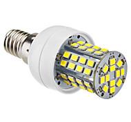 E14 5W 60x2385SMD 450-500LM 5800-6500K Natural bulbo del blanco LED de maíz (220-240V)
