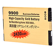 2430mAh PDA batterie pour Blackberry 9930/9850