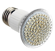 E27 5W 80-LED 320-360LM 6000-6500K luz blanca natural LED del bulbo del punto (230)