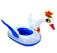 Swan Shaped Inflatable Baby Swim Ring(Random Colors)
