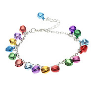 Colorful Bell Metal Anklets